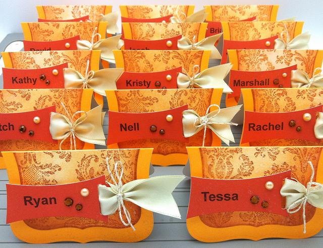 paper source templates place cards - easy place cards for thanksgiving or the daily marker