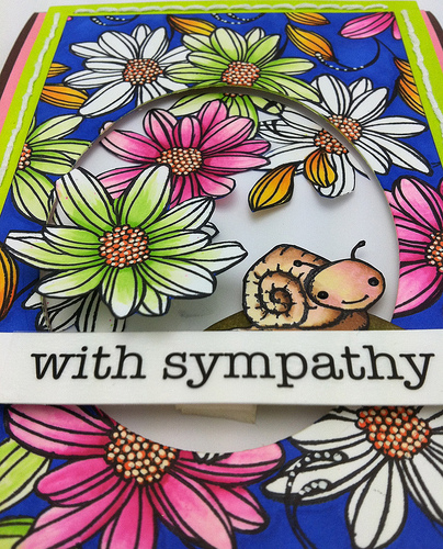 with sympathy