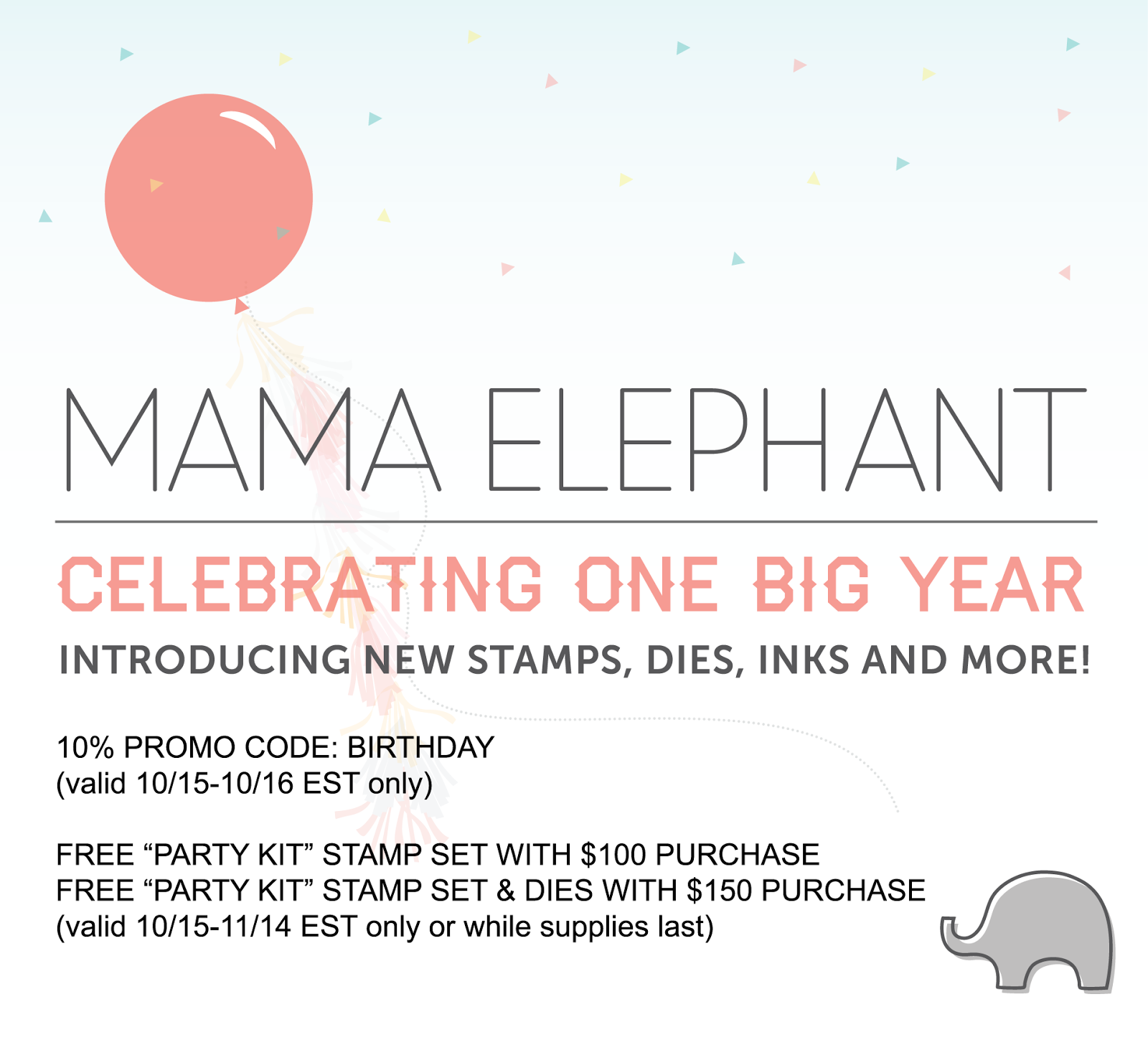 mama elephant blog hop - The Daily Marker