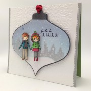 ornament card and video- blog hop