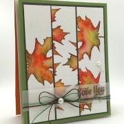 abstract fall leaves – GIVEAWAY