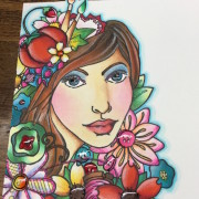 Day 22. adding highlights and exciting giveaway