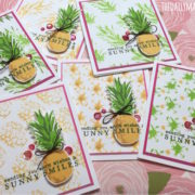 Layering Stamps, video & giveaway