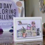 Day 10. Watercoloring w/ Coffee GIVEAWAY