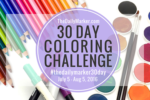 Join the Coloring Challenge!