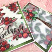 Vellum Yes please & blog hop