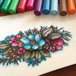 Day 14. Coloring on the go & Giveaway