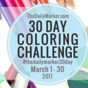 My 7th 30 Day Coloring Challenge
