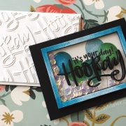 Stencils w/copics & blog hop