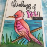 Day 28. A Coloring Card … Card
