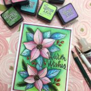 Holiday Watercolor Blog Hop, Video & Giveaway