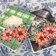 Make Your Own Plaid Paper with Markers -Video & Hop