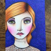 Day 27. Mixed Media Enhancing Your Copic Coloring