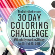 The 30 Day Coloring Challenge