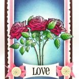 From simple to more detailed with Penny Black's new Valentines stamps