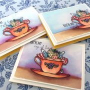 You're My Cup of Tea – Mixed Media Coloring