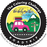 """Dates & Locations for """"The Coloring Challenge Road Trip"""""""