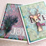 Video w/ A Quick Holiday Card, Blog Hop & Giveaway