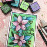 Holiday Watercolor Blog Hop, Video & Giveaway
