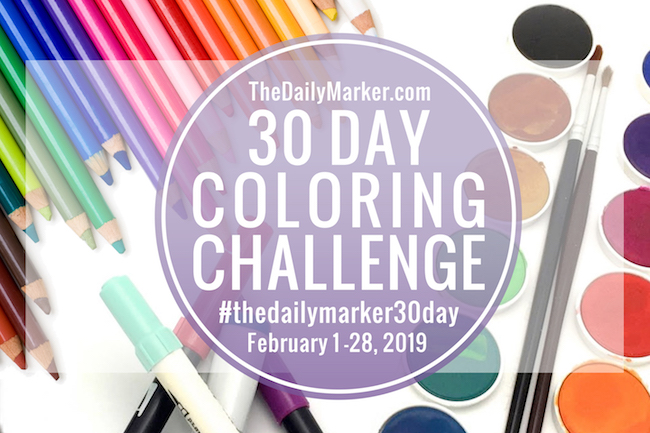 https://www.thedailymarker.com/2019/02/day-1-the-30-day-coloring-challenge-coloring-link-up-2/