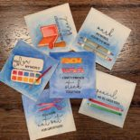 Day 20. Crafty Notes from Gina K. Designs