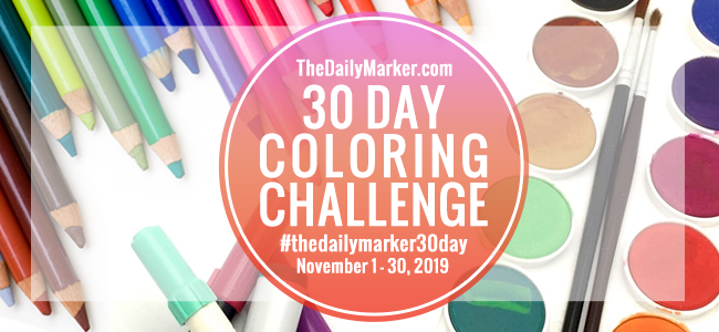 https://www.thedailymarker.com/2019/11/day-1-the-30-day-coloring-challenge-2019-link-up/